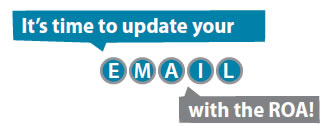 It's time to update your email with the ROA