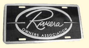 ROA Embossed License Plate